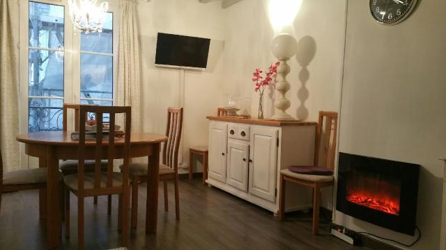 Décoration intérieure de l'appartement en location de vacance à Dieppe