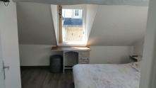 Chambre n°1 - Lit double + lit superposé